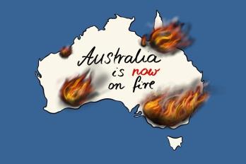 Buschbrände in Australien 1